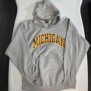 Michigan University Hoodie Size Medium EUC